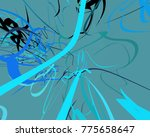 abstract art texture. colorful... | Shutterstock . vector #775658647