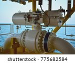 pipeline production and control ... | Shutterstock . vector #775682584