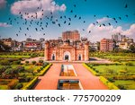 birds fly over lalbagh fort... | Shutterstock . vector #775700209