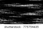 grunge dry brush strokes and... | Shutterstock .eps vector #775754635
