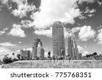 miami  high residential... | Shutterstock . vector #775768351