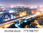 aerial view of the cityscape of ... | Shutterstock . vector #775788757