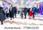 defocused  shopping... | Shutterstock . vector #775812235