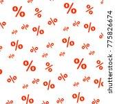 percent seamless business...   Shutterstock . vector #775826674