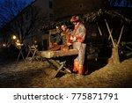zagreb  croatia   december 20 ... | Shutterstock . vector #775871791
