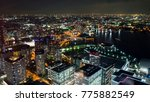 night light yokohama cityscape... | Shutterstock . vector #775882549