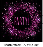 bright sprayed circle abstract... | Shutterstock . vector #775915609