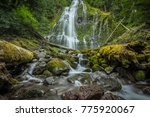 Wide Angle View Of Proxy Falls...