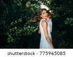 portrait of beautiful women in... | Shutterstock . vector #775965085