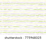 undulated curved stripes... | Shutterstock .eps vector #775968325