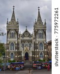 Small photo of Mumbai - December 2017: The Basilica of Our Lady of the Mount, also known as Mount Mary Church, is a Roman Catholic Basilica located in Bandra, Mumbai.