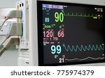 monitor vital sign and ekg ... | Shutterstock . vector #775974379