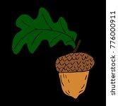 acorn vector illustration   Shutterstock .eps vector #776000911
