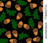 acorn vector illustration   Shutterstock .eps vector #776002711