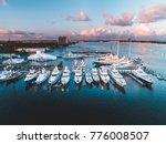 Glowing Yacht Marina