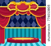 poster for the show. circus.... | Shutterstock .eps vector #776013805