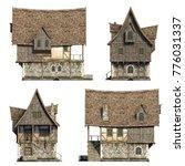 Frontside Medieval Houses Set....