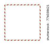 candy cane frame border for...
