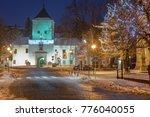 Illuminated Castle Bystrice Po...