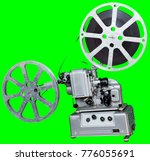 a movie projector is an opto...   Shutterstock . vector #776055691