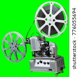 a movie projector is an opto...   Shutterstock . vector #776055694