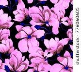 watercolor seamless pattern...   Shutterstock . vector #776060605