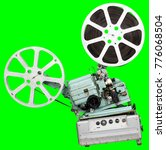 a movie projector is an opto... | Shutterstock . vector #776068504