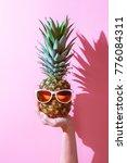 creative layout made of summer... | Shutterstock . vector #776084311
