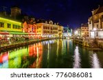 Historical Old Town Of Annecy ...