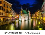 Historical Old Town Of Annecy...