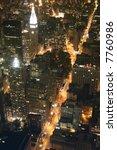 new york city at night | Shutterstock . vector #7760986