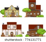 collection of medieval themed...   Shutterstock .eps vector #776131771