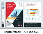 cover book design template with ...   Shutterstock .eps vector #776155561
