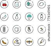 line vector icon set  ...   Shutterstock .eps vector #776165401