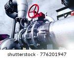 industrial zone  steel... | Shutterstock . vector #776201947