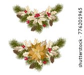 christmas decorations with... | Shutterstock .eps vector #776201965