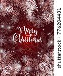 elegant christmas red...   Shutterstock .eps vector #776204431