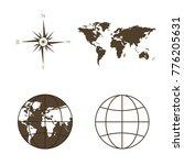 symbols of global technology ... | Shutterstock . vector #776205631
