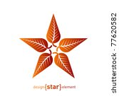 Abstract Vector Logo  Star Wit...