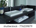 modern bathroom wash basin in...   Shutterstock . vector #776239879