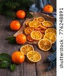 Dried Oranges  Fresh Tangerines ...