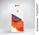the roll up banner  modern... | Shutterstock .eps vector #776259457
