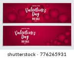valentine's day love and...   Shutterstock .eps vector #776265931