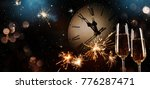 new years eve celebration... | Shutterstock . vector #776287471