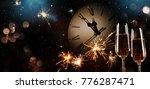 new years eve celebration...   Shutterstock . vector #776287471