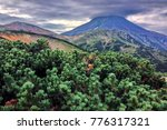 one of the volcanoes of... | Shutterstock . vector #776317321