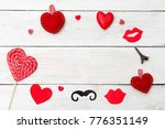 pictures for st. valentine's... | Shutterstock . vector #776351149