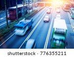 hong kong city expressway ...   Shutterstock . vector #776355211