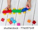games with children's... | Shutterstock . vector #776357149