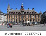 lille  france   may 26  2017 ... | Shutterstock . vector #776377471